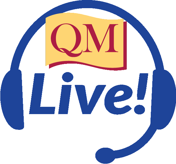headset with QM Live inside