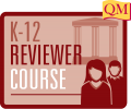 k-12 reviewer course icon